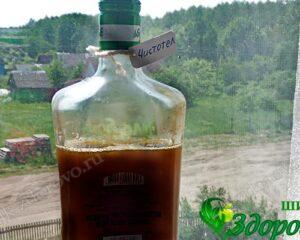 Как сделать сок из чистотела